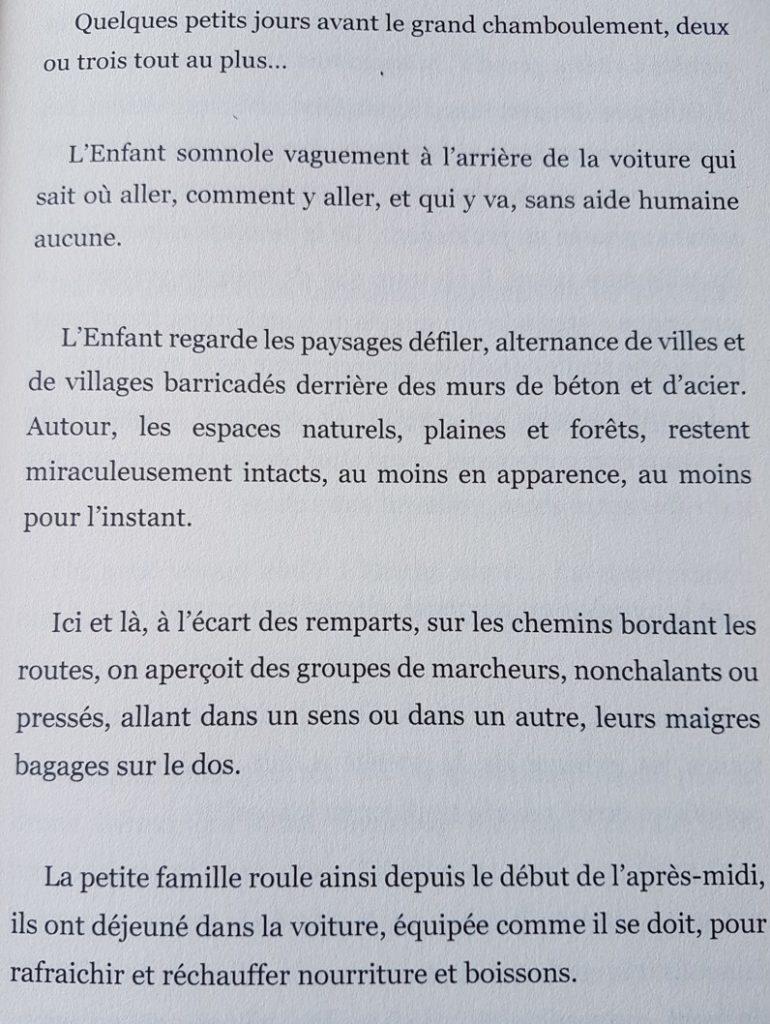 """Extrait du roman """"Et si un clic pouvait changer le monde ?"""" de Marie Prat aux Editions Plume Libre"""